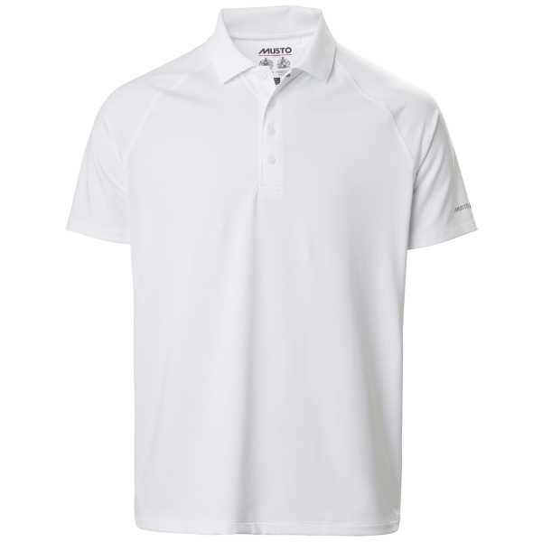 Evolution short sleeve polo 2.0 white