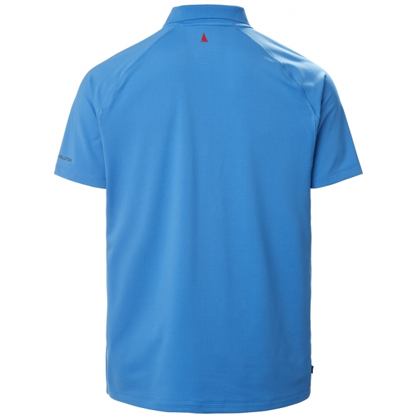 Evolution short sleeve polo 2.0 brilliant blue